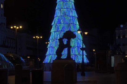 La luz de la Navidad ilumina Madrid