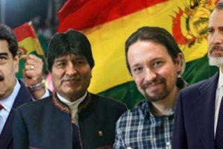 Iglesias y Evo Morales ultiman la encerrona a Felipe VI: forzarán un encuentro del Rey y Maduro en Bolivia