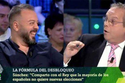 El 'inquisidor' jefe de Podemos monta una cacería contra el socialista Carmona para expulsarle de las tertulias de la tele