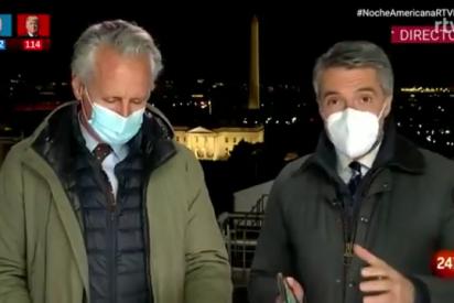 Cachondeo en Twitter con el 'experto' Lorenzo Milá para analizar en TVE las elecciones en EE.UU