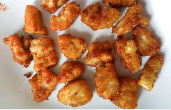 Nuggets de pollo crujientes al horno: