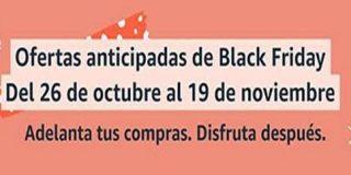 Ofertas anticipadas Black Friday 2020