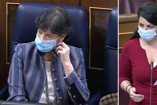 """Olona (VOX) despluma a Celaá en el Congreso: """"¡Es usted un auténtico buitre carroñero!"""""""