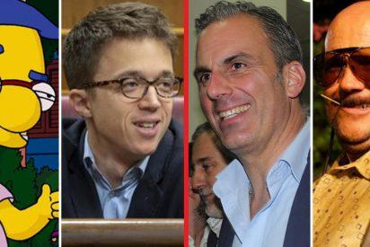 'Milhouse Errejón' y 'Torrente Smith'; pelea de motes e insultos entre los dos diputados en Twitter