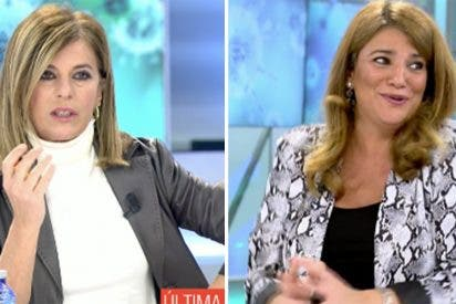 Colosal troleo de María Claver a Esther Palomera en Telecinco por querer tumbar el hospital de Ayuso
