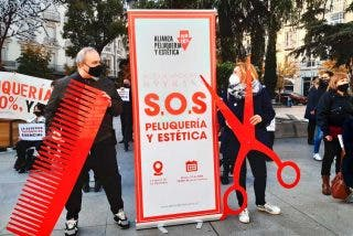 Las peluquerías denuncian la traición del PSOE a la histórica reivindicación de bajada del IVA