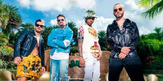 """Amenazzy, Yandel, Mau y Ricky, ponen al mundo a bailar con su nuevo sencillo, """"Calmarme II"""""""