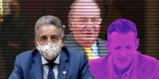 """El Quilombo / Revilla llama """"verdadero sinvergüenza"""" al rey emérito mientras hace de lustrabotas de Sánchez"""
