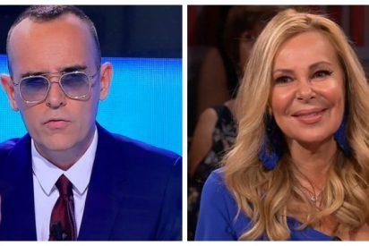 A Risto Mejide le sale de pena defender a su cadena echando mierda sobre Ana Obregón, TVE y la prensa