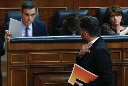El PSOE entrega la 'cabeza' del castellano a ERC y lo suprimen como lengua vehicular en las aulas