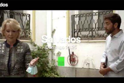 laSexta intenta resucitar el decadente 'Salvados' de Gonzo con otro plantón de Esperanza Aguirre