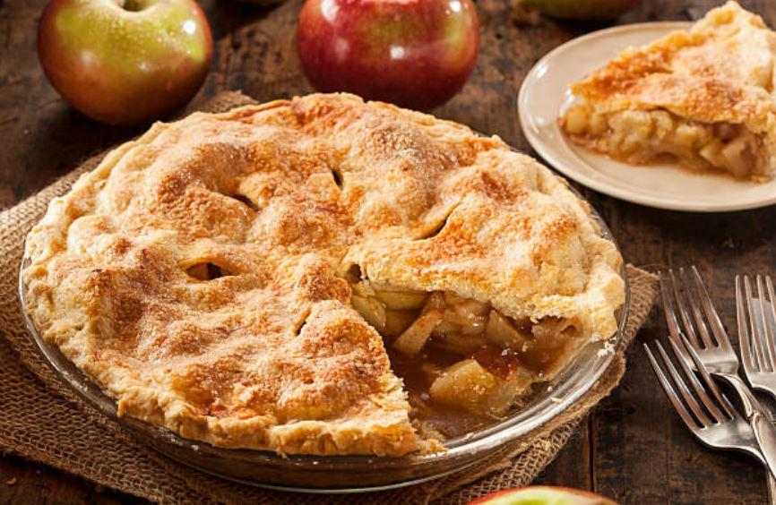 Tarta americana de manzana