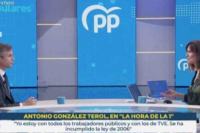 """González Terol (PP) arroja las vergüenzas de TVE a la cara de Mónica López: """"¡Lo de Jesús Cintora es una cacicada!"""""""