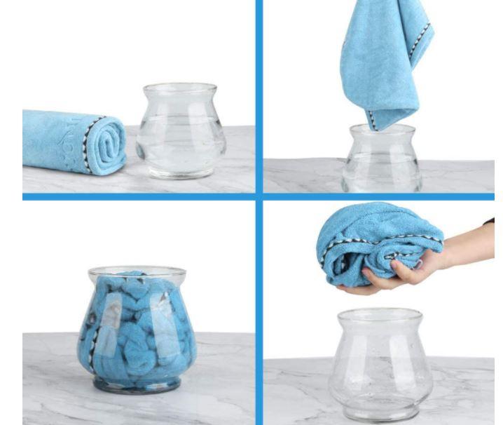 toallas turbante para el pelo