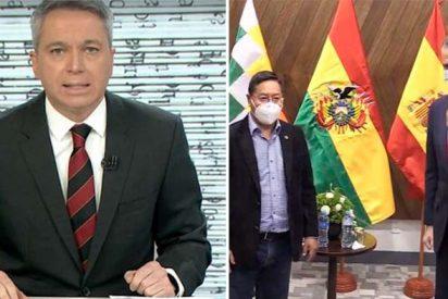 ¡Vallés lo vuelve a hacer!: arrasa en 1 minuto con Iglesias y PSOE por el viaje a Bolivia