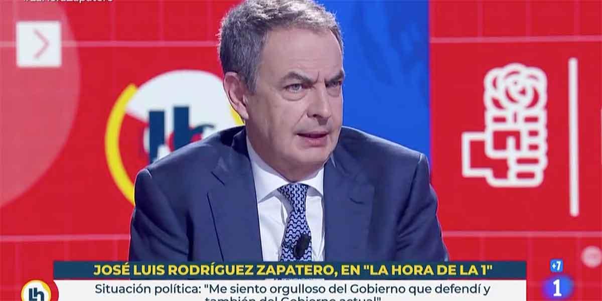 Mónica López (TVE) da vía libre a ZP para que blanquee a Bildu pero no le pregunta por Venezuela