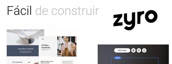 Zyro - herramienta para crear páginas web