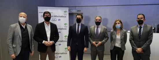 Juan Marín presume y saca pecho de la gestión del Gobierno en Andalucía