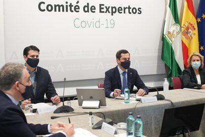 """Juanma Moreno anuncia una 'desescalada' en dos fases y hace un llamamiento a la prudencia: """"No le perdamos el respeto al coronavirus"""""""