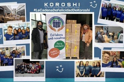 Koröshi dona una prenda a las ONG por cada pedido realizado en Navidades