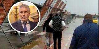 Vea cómo pillan a Marlaska en otra mentira: inmigrantes ilegales trasladados a Granada de noche y sin PCR