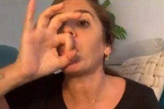 'Sálvame': Anabel Pantoja se harta de los chismosos y corta con una pedorreta la comunicación con Telecinco