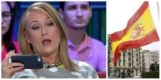"""Elisa Beni enloquece: """"¿Seré delincuente por decir puta bandera y puto Constitucional?"""""""