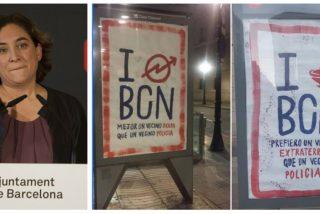 Colau despilfarra el dinero de los barceloneses en alentar el odio a la Policía y en fomentar la 'okupación'