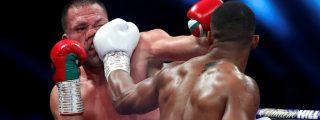 Pesos Pesados: Joshua venció a Pulev con un brutal KO