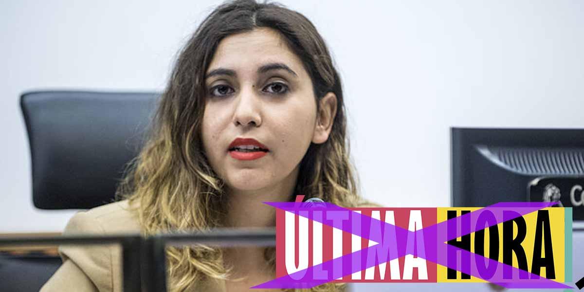 Dina Bousselham irá a juicio: le obligan a cambiar el nombre de su panfleto por copiarlo con descaro