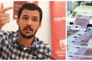 """El disparate del hermano de Alberto Garzón para salir de la crisis : """"Podemos imprimir dinero ilimitadamente"""""""