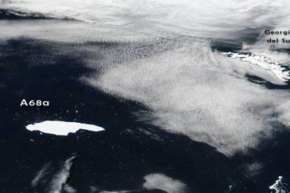 Clima: El A-68A, el iceberg más grande del mundo, se rompe en pedazos