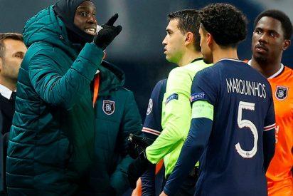 PSG vs Basaksehir: ¿el momento del insulto racista del árbitro Sebastian Colescu?