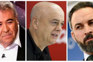 VOX va contra laSexta y Elorza (PSOE) por insinuar que Abascal apoya "fusilar a 26 millones de hijos de..."