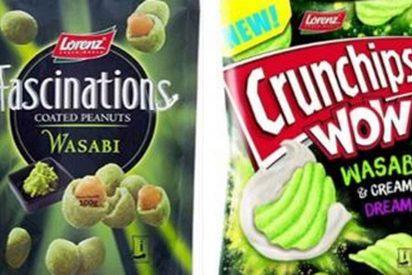Alerta alimentaria: retiran en España estos 'snacks' de wasabi dañinos para los alérgicos a la mostaza.