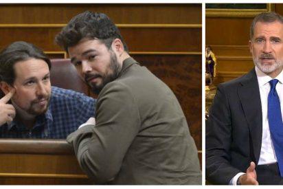 """Luis Ventoso: """"Es una buena noticia que ni a Podemos ni a Rufián les gustase el discurso de Felipe VI"""""""