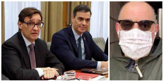 Hasta el friki Losada carga contra Sánchez por politizar la pandemia y poner a Illa como candidato en Cataluña