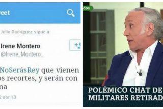 """Inda: """"Cuando Irene Montero apoyó guillotinar al Rey no se armó igual pollo que con el chat de los militares"""""""