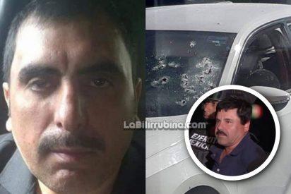 Asesinan de 50 balazos a 'C1', uno de los principales compinches de 'El Chapo' Guzmán