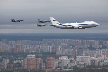 Roban dentro del 'avión del fin del mundo', la nave de Vladimir Putin para resguardarse en una guerra nuclear