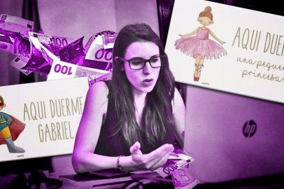 Ministerio de Igualdad: proponen en redes sociales precintar el chiringuito de Irene Montero con un lacito rosa