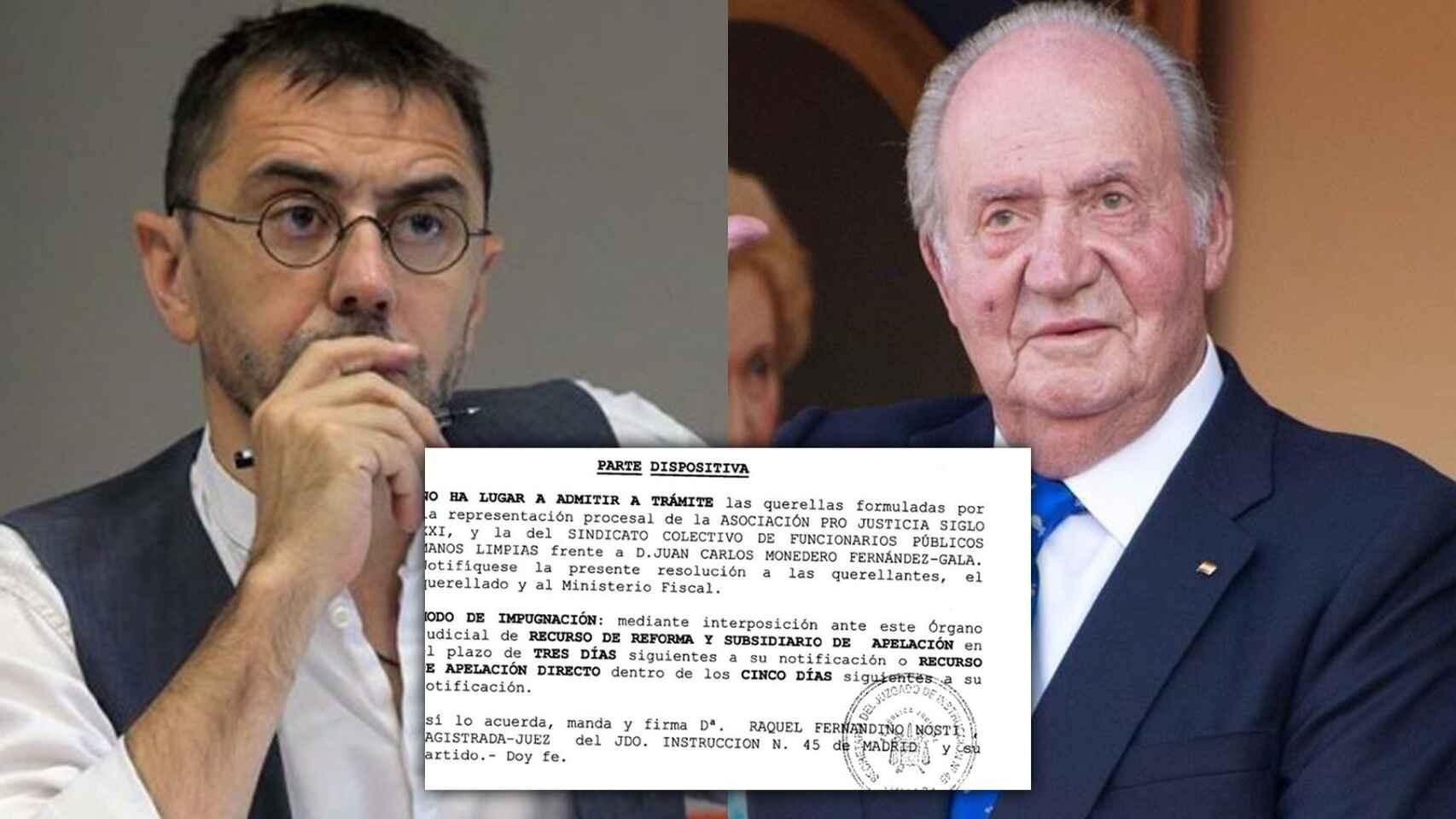 """Eduardo Inda: """"La prensa que guardó silencio con Monedero y monta el pollo con Juan Carlos I"""""""