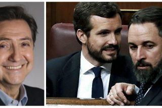 """Losantos: """"Si Abascal saca un escaño más que Casado, ¿el PP lo hará presidente o preferirá a Sánchez?"""""""