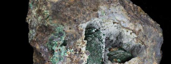 La 'kernowita', el asombroso mineral que 'dormía' en una roca desde hace 220 años y acaba de ser descubierto
