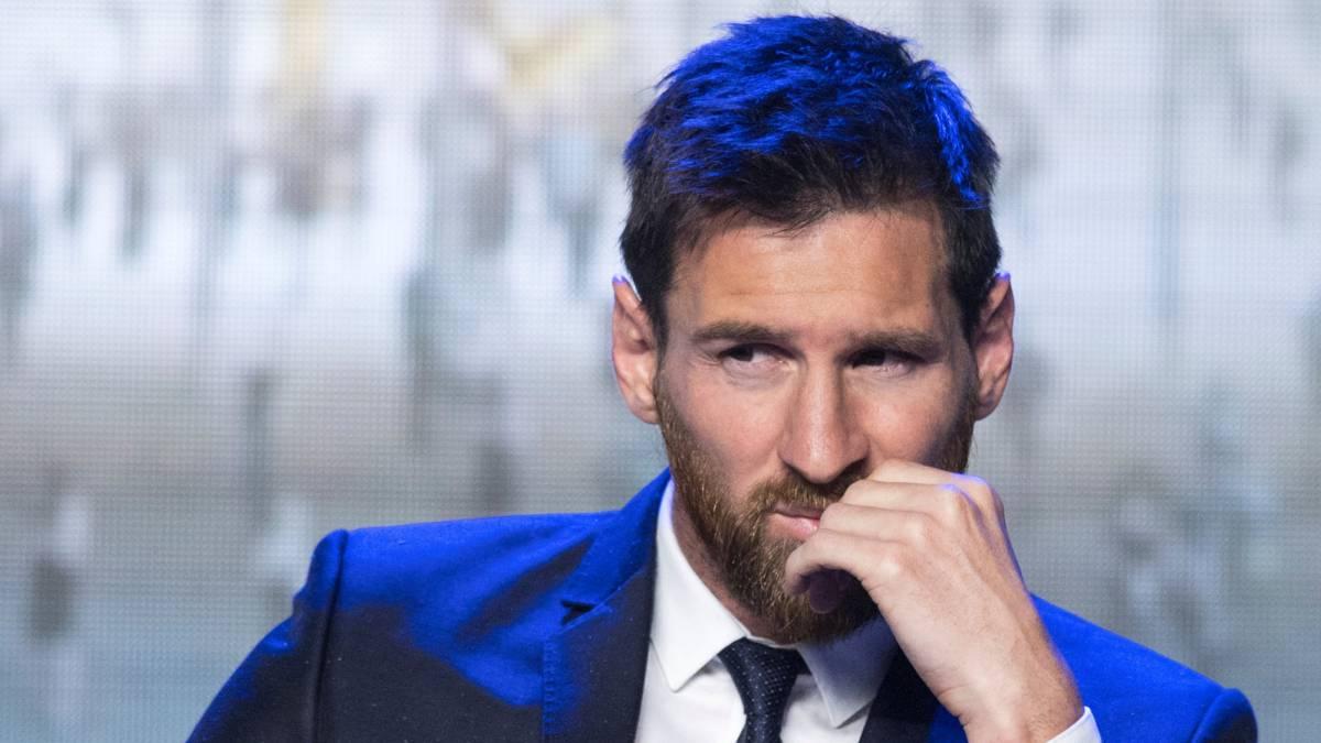 La polémica portada de France Football: Messi con la camiseta del PSG