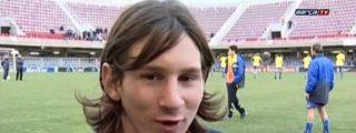 La sucia entrevista en la que unos tíos meten mano, besan en la boca y soban las bolas a Leo Messi
