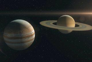 'El Beso de Navidad': cómo, cuándo y dónde ver el asombroso alineamiento de Júpiter y Saturno