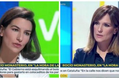 """Zasca de Monasterio a 'Isobaras' López: """"Sánchez busca poder, pero están dirigiendo otros como Otegi o Iglesias"""""""