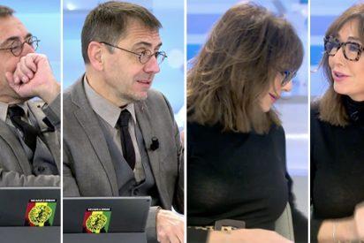 Monedero se las da de ingenioso con un regalo para Ana Rosa pero la presentadora le deja como un besugo total