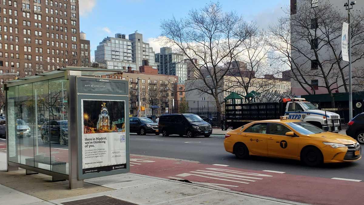 Madrid difunde su imagen en una gran campaña de promoción en Nueva York